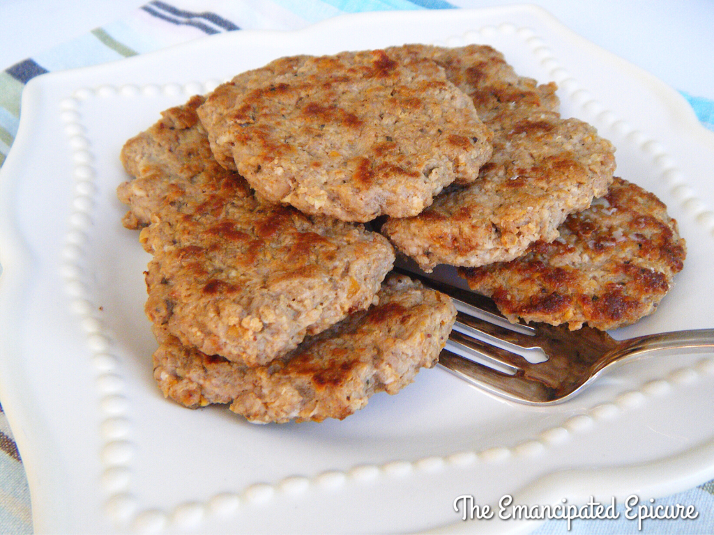 AIP Paleo pork breakfast sausage that tastes just like the real thing!